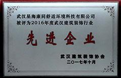 武汉建筑装饰行业先进企业
